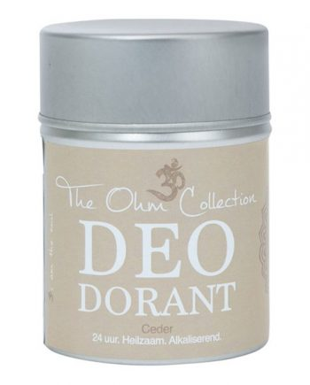 Natuurlijke deodorant cederhout The Ohm Collection