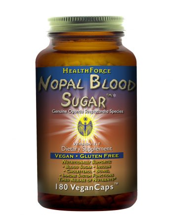 Nopal Blood Sugar HealthForce