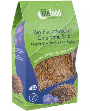 Chia-lijnzaad (crackers) - Lifefood